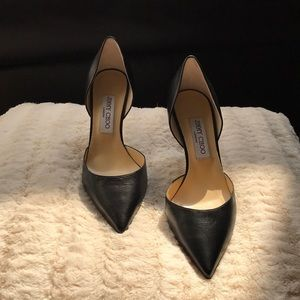New Authentic Jimmy Choo Black Pump... Size 38 1/2